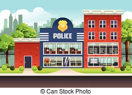 Police station Stock Illustrations. 1,386 Police station clip art.
