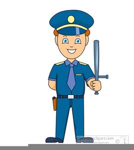 362 Cop free clipart.