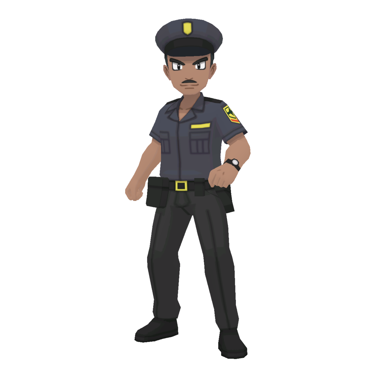 Police Officer (Trainer class).
