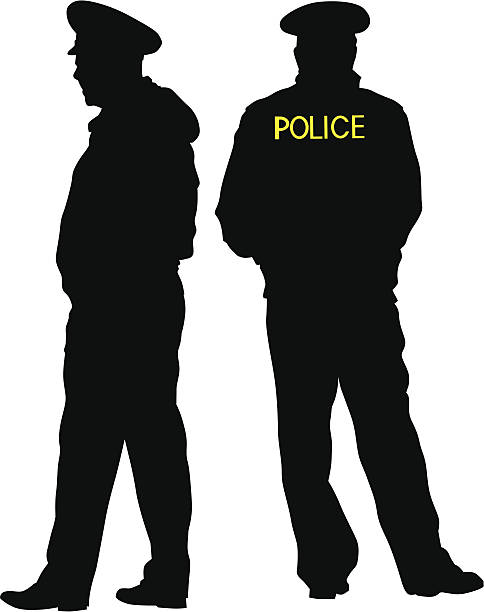 8479 Police free clipart.