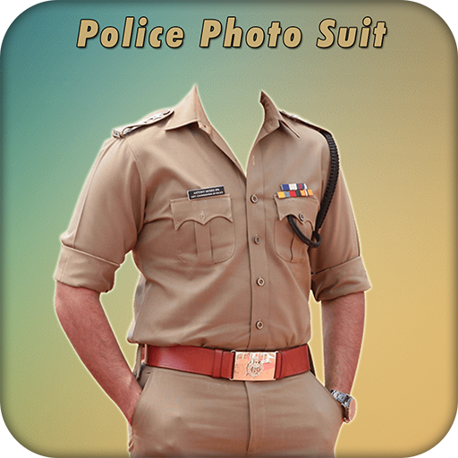 Download Men Police Suit Photo Editor.