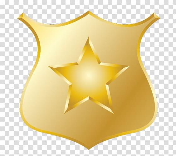 Police officer Badge Sheriff , Police Badge Outline.