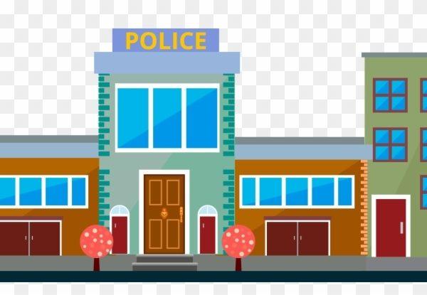 Police Station Police Officer Clip Art.