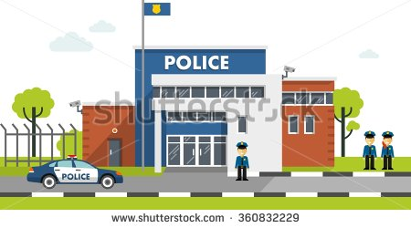 Police station clipart  Police stations clipart - Clipground