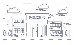 Police station black and white clipart 5 » Clipart Portal.