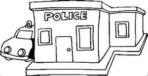 Amazing Of Police Station Clipart Black And White.