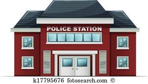 Police station Clipart Illustrations. 904 police station clip art.