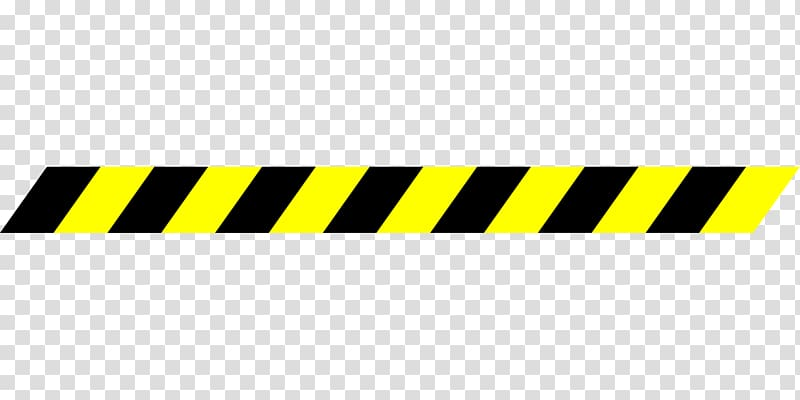 Black and yellow warning line art, Barricade tape , police.