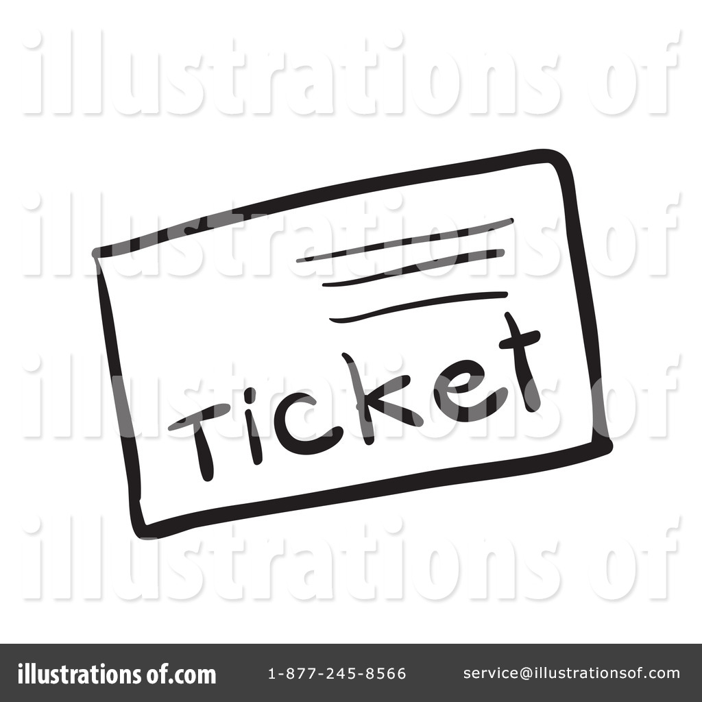 Ticket Clipart #1133689.