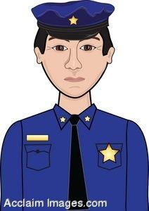 Police uniform clipart.