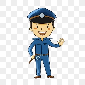 Policeman PNG Images.