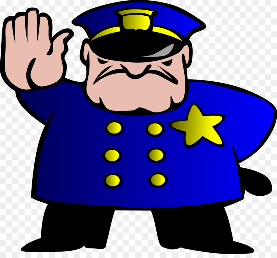 Police Officer Cartoon clipart.
