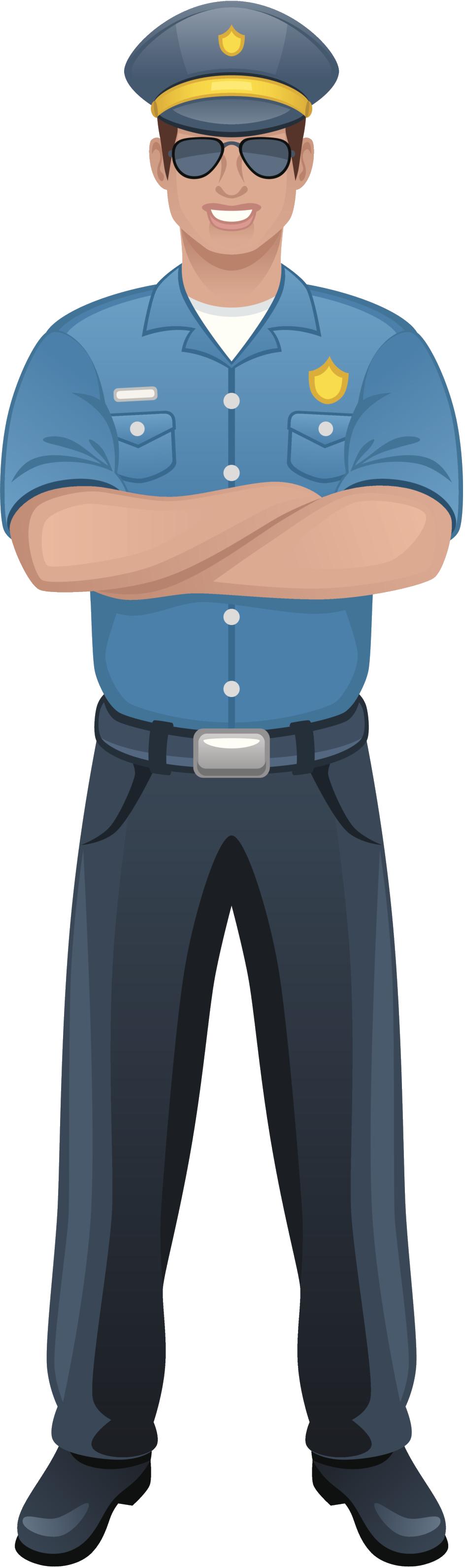 Policeman clip art.