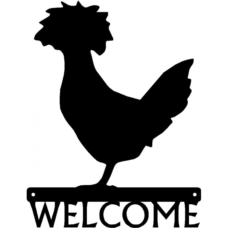 Polish Chicken #2 Welcome Sign.