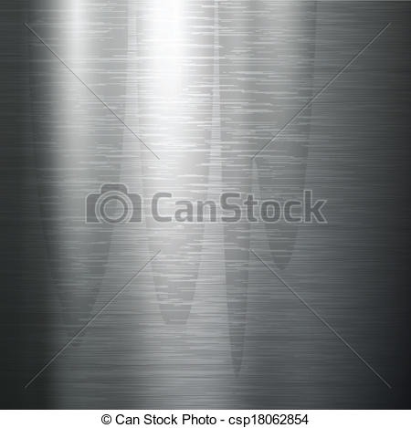Clipart Vector of polished metal texture..