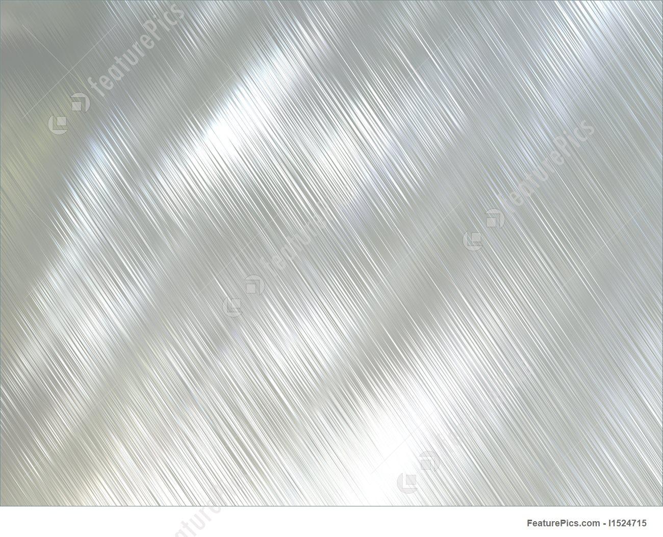 Illustration Of Polished Metal.