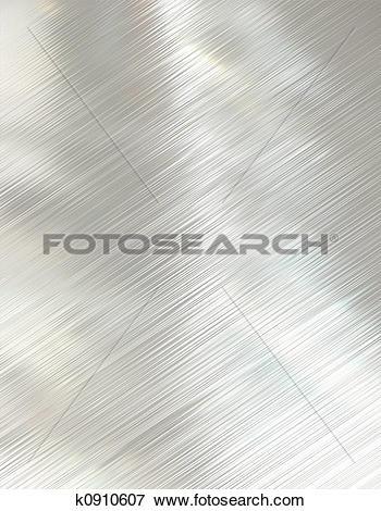 Stock Illustration of polished metal k0910607.