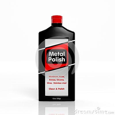 3d Metal Polish Plastic Bottle Stock Photos, Images, & Pictures.