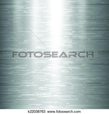 Clipart of Polished metal texture. k22038763.