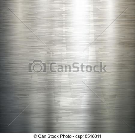 Vector Clip Art of polished metal texture..