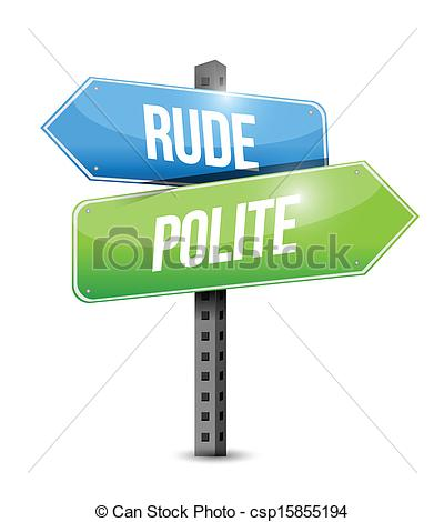 Politeness Stock Illustrations. 987 Politeness clip art images and.