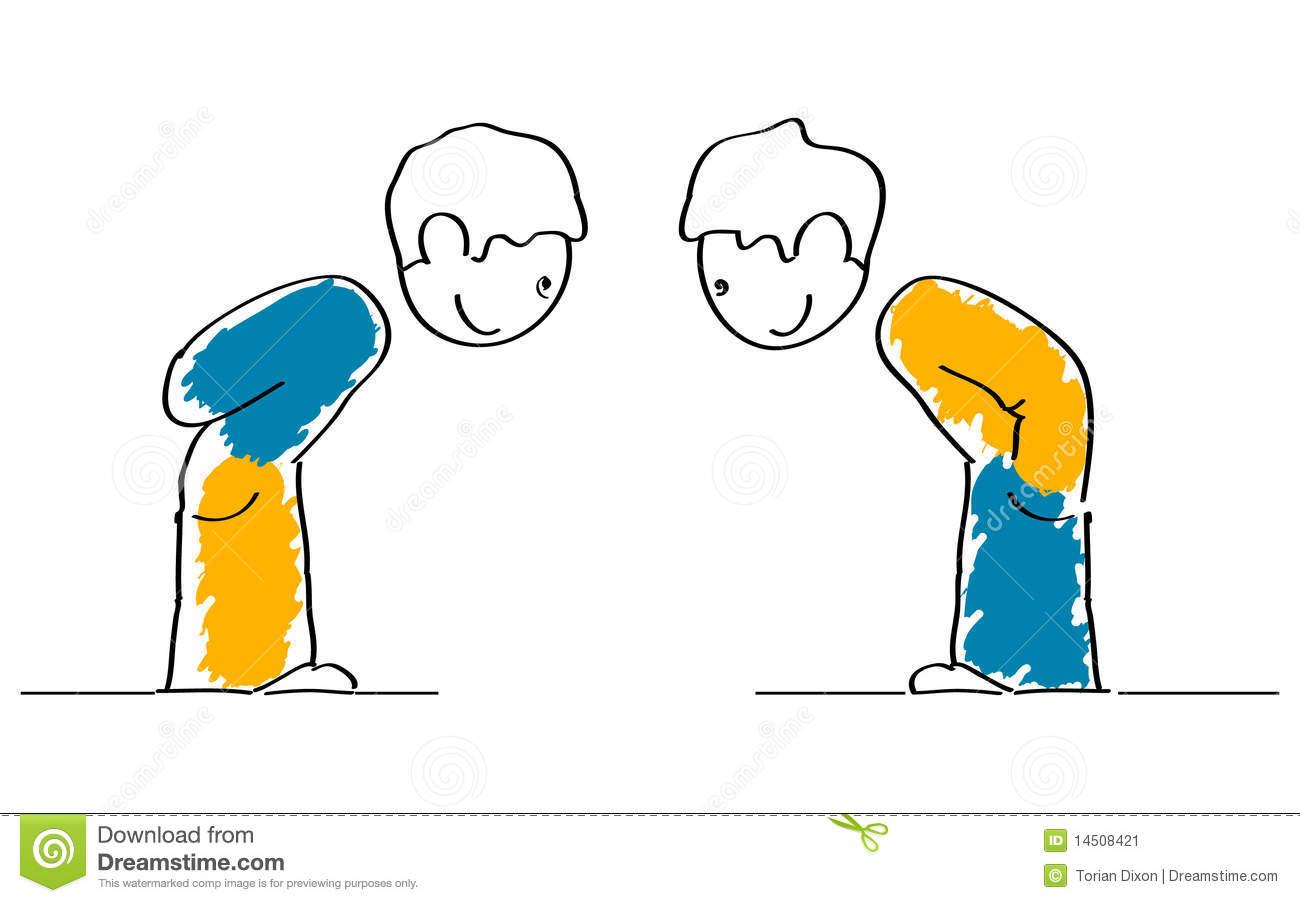 Politeness Stock Illustrations.