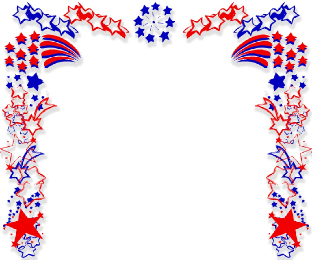 Free political clipart borders.