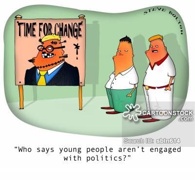 Political Engagement Cartoons and Comics.