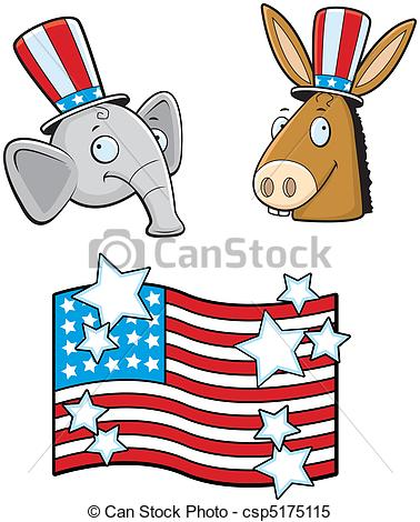 Political Parties Clipart.