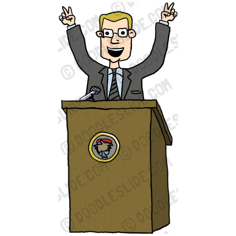 Politician Clipart.
