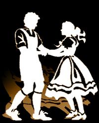 Polka Dancing Clipart.