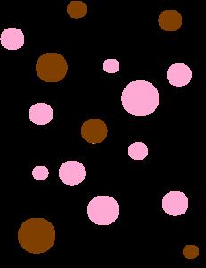 Polka Dots Clipart.