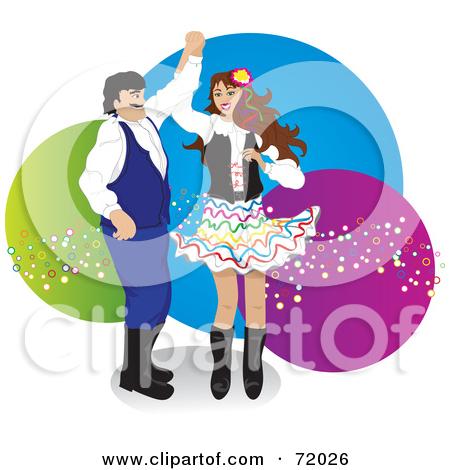 Polka Dance Clipart.