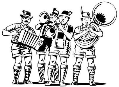 Polka Music Clipart.