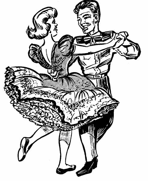 Square Dance Clipart.