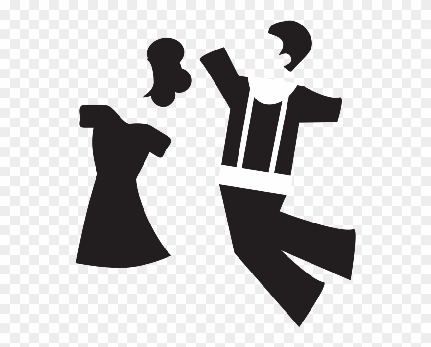 The Polka, Ballroom Dancing, And Salsa Dancing Clipart.