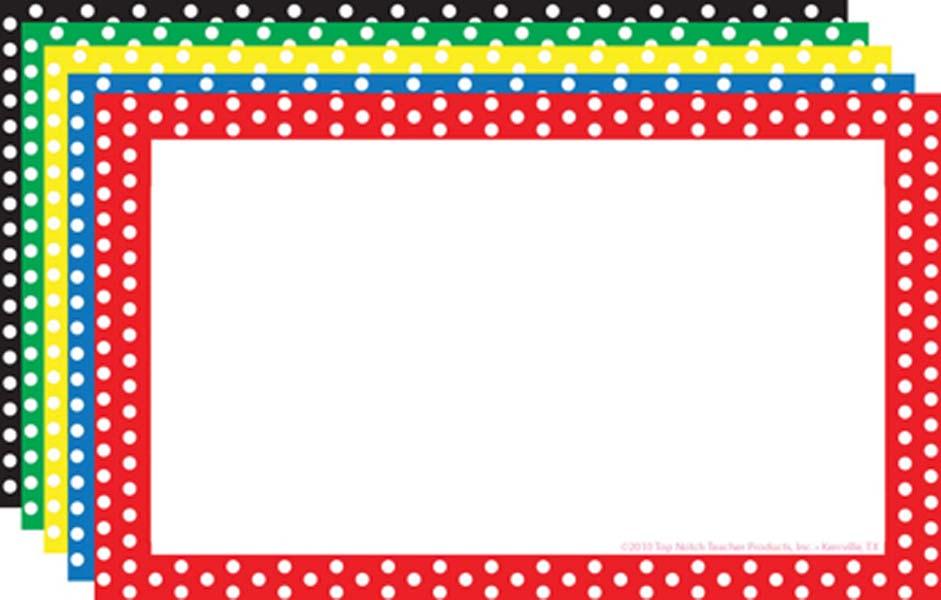 79+ Polka Dot Border Clip Art.