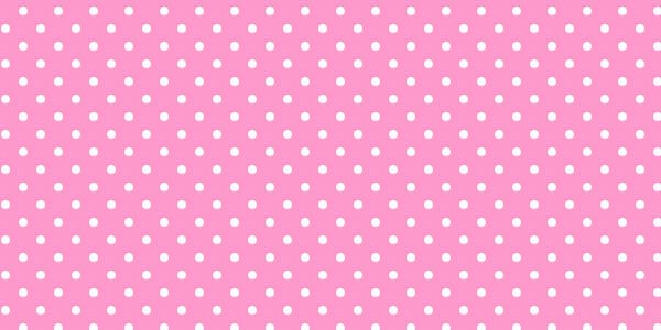 Pink and white polka dot free clip art.