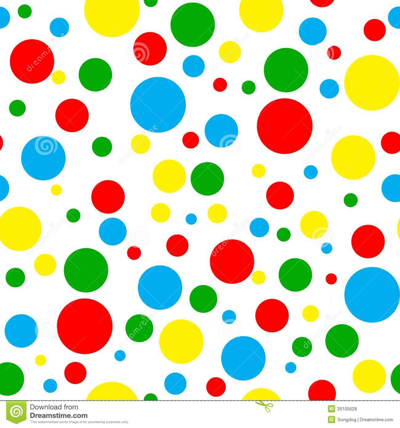 Polka dot clipart free.