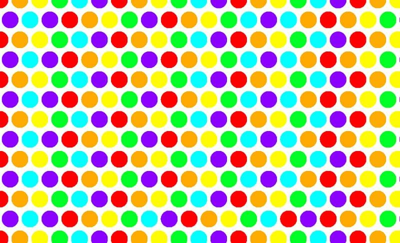Link Rainbow Dots Polka dot Desktop , Polkadot Rainbow.