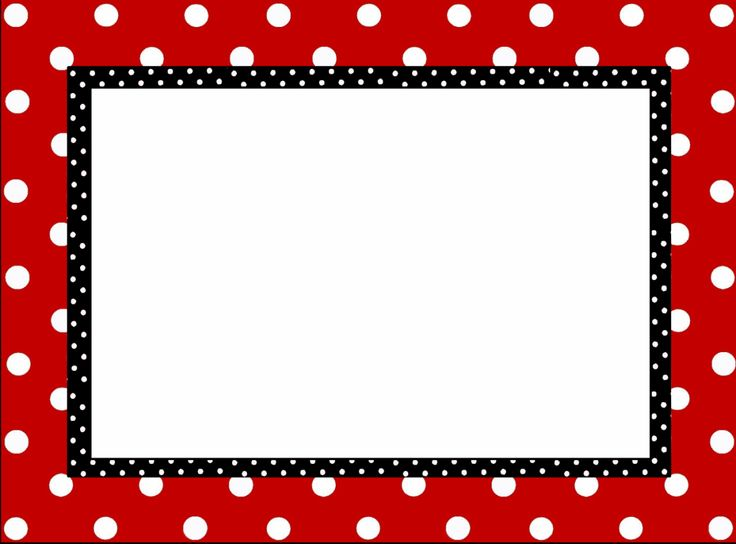71+ Polka Dot Border Clip Art.