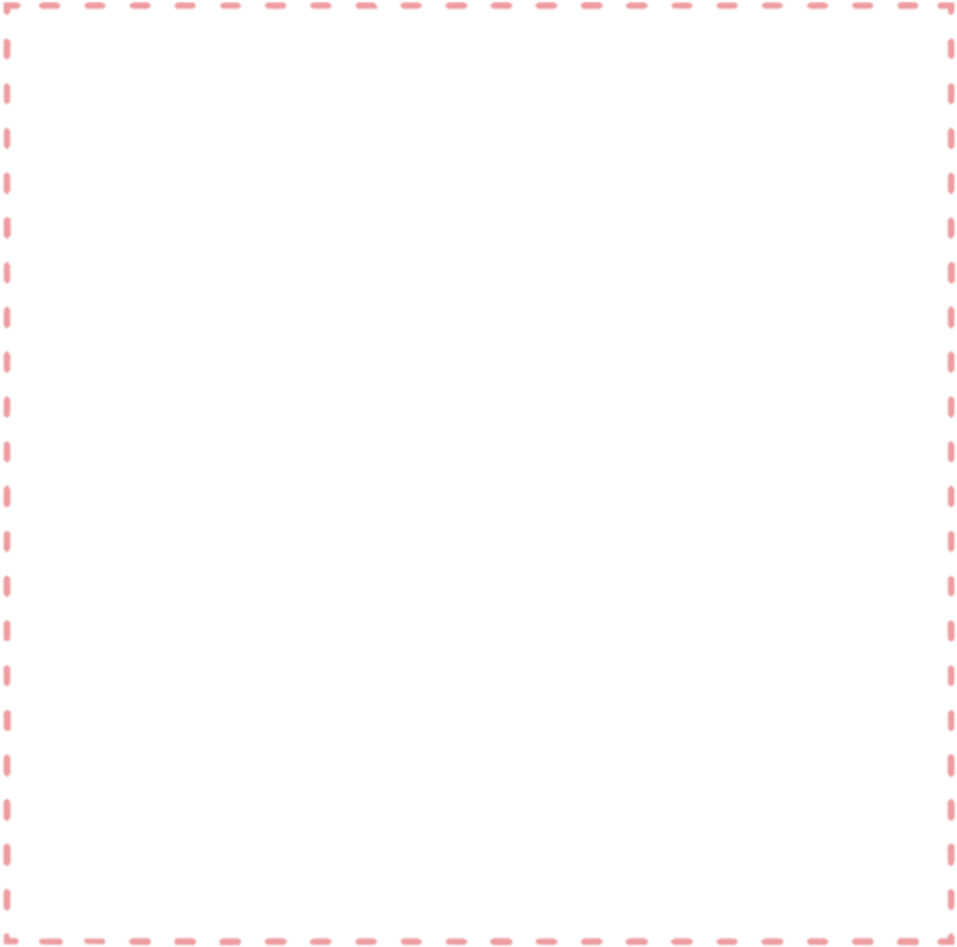 HD Dotted Line Frame Pink Dottedoutline Board Frame Dotted.