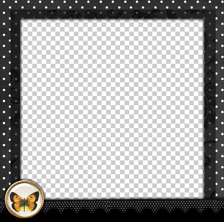 Borders And Frames Frame Polka Dot PNG, Clipart, Black And.