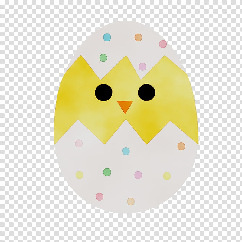 Easter Egg, Easter , Yellow, Owl, Bird, Bird Of Prey, Oval.