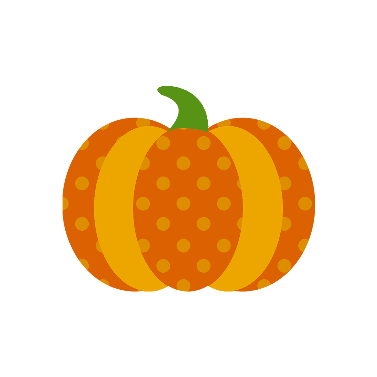 Chevron Pumpkin Clipart.