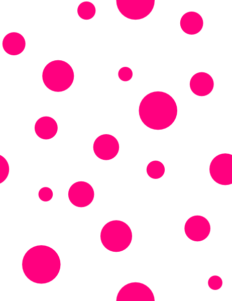Pink polka dots clip art clipart images gallery for free.
