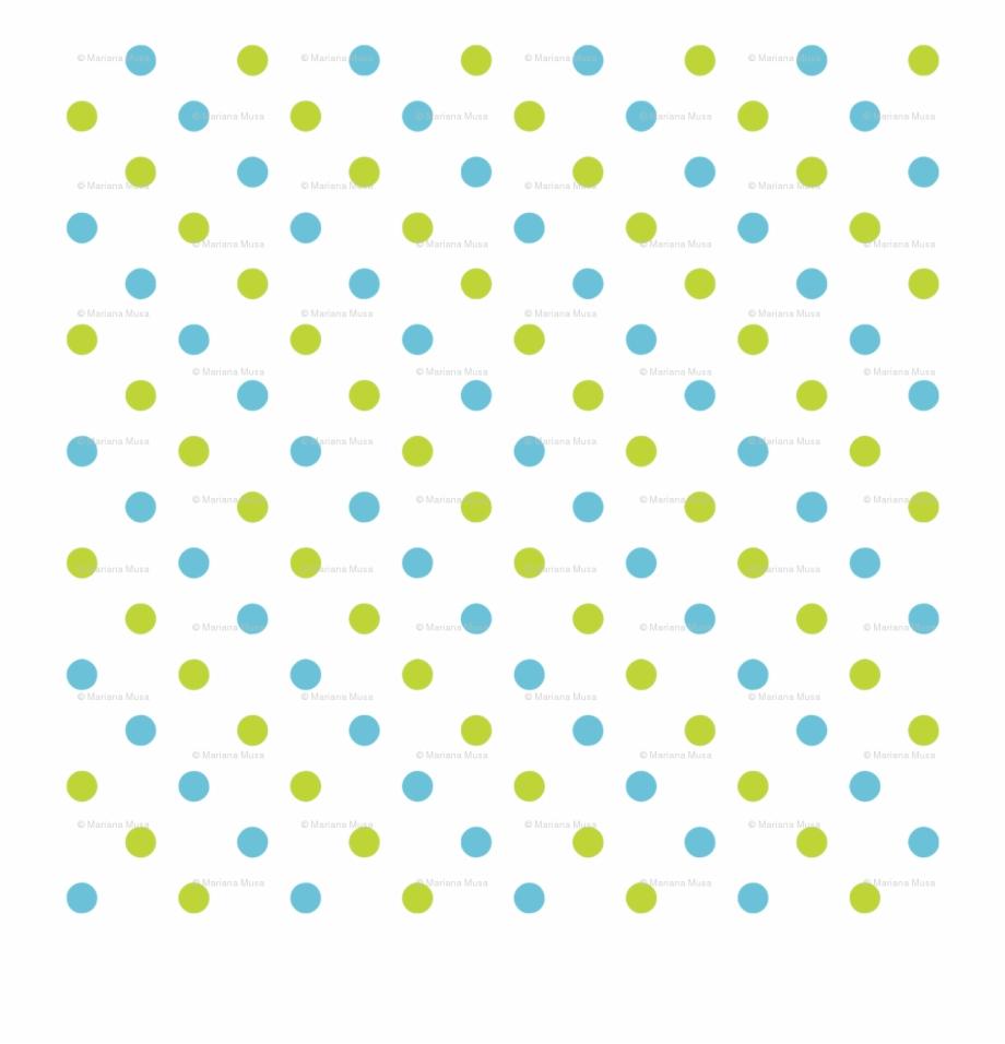 Yellow Polka Dots Png.