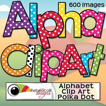 Alphabet Letters Clip Art.
