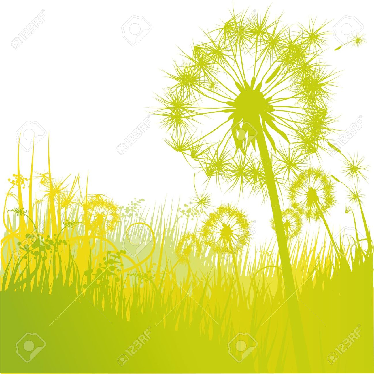 Dandelions And Dandelion Royalty Free Cliparts, Vectors, And Stock.