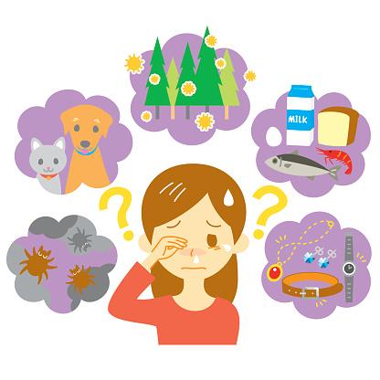 Pollen Allergy Clip Art, Vector Images & Illustrations.